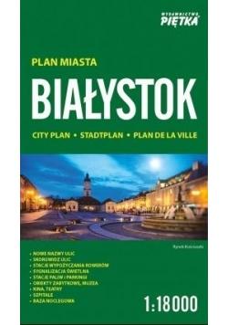 Białystok 1:18000 plan miasta PIĘTKA