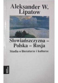 Słowiańszczyzna-Polska-Rosja