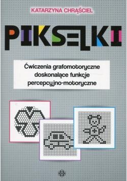 Pikseliki Ćwiczenia grafomotoryczne doskonalące funkcje percepcyjno-motoryczne