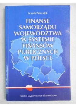 Finanse samorządu województwa w systemie finansów publicznych w Polsce