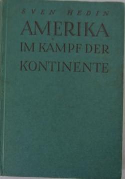 America im kampf der kontinente, 1943 r.