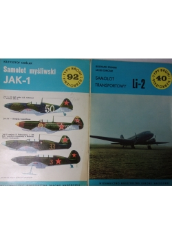Samolot transportowy Li-2/Samolot myśliwski JAK-1