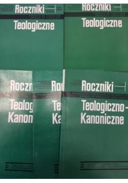 Rocxzniki Teologiczne/ Roczniki Teologiczno-Kanoniczne,  5 książek
