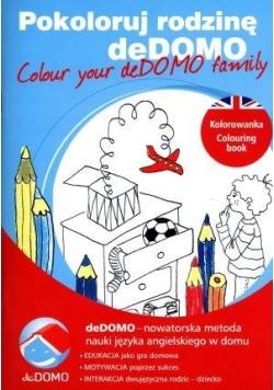 Pokoloruj rodzinę deDOMO. Colour your deDOMO ...