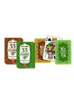 Karty - Classic 55 listków TREFL