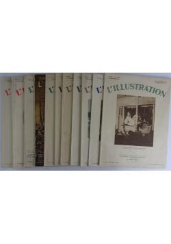 L'illiustration, 11 książek 1931r