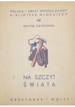 Na szczyt świata ,  1938 r.