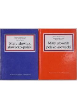 Mały słownik słowacki - polski i polsko - słowacki