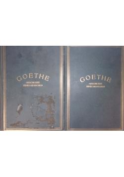 Goethe II tomy , 1919 r.