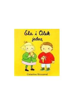 Ela i Olek jedzą