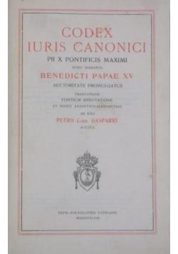 Codex Iuris Canonici, 1918 r.