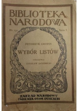 Wybór listów,1949r.