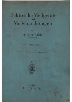 Elektrische mebgerate und mebeinrichtungen, 1942 r.
