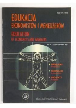 Edukacja ekonomistów i menedżerów