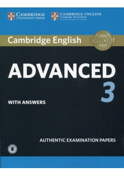Cambridge English Advanced 3 with answers with Audio