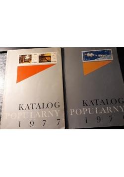 Katalog popularny 1977 i 1976