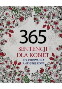 365 sentencji dla kobiet Kolorowanka antystresowa