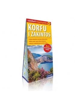 Comfort! map&guide Korfu i Zakintos 2w1 w.2018