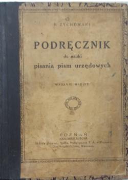 Podręcznik do nauki pisania pism urzędowych, 1941 r.