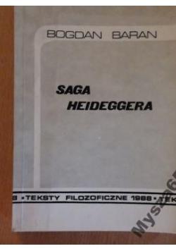 Saga Heidegger Teksty Filozoficzne