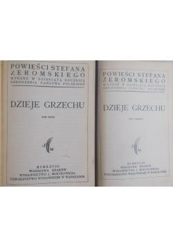 Dzieje grzechu - Tom I - II - 1928 r.