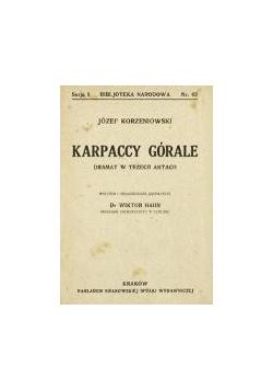 Karpaccy górale, 1908 r.