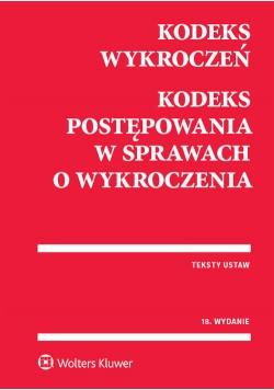 Kodeks wykroczeń Kodeks postępowania w sprawach o wykroczenia