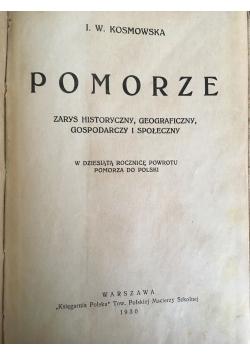 Pomorze, 1930 r.