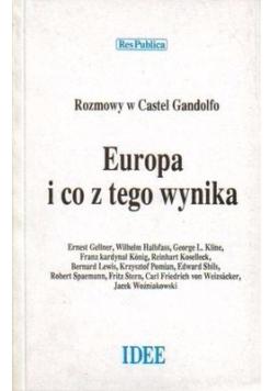 Europa i co z tego wynika