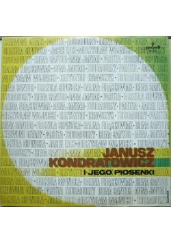 Janusz Kondratowicz i jego piosenki, płyta winylowa