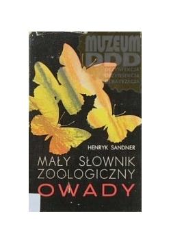 Mały słownik zoologiczny  OWADY