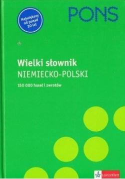 Wielki słownik ( I tom ) niemiecko-polski PONS
