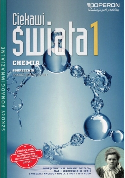 Ciekawi świata 1 Chemia Podręcznik wieloletni Zakres rozszerzony