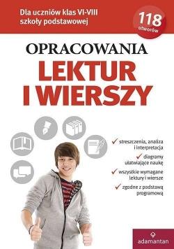Opracowania lektur i wierszy kl. VI-VIII SP w.2018