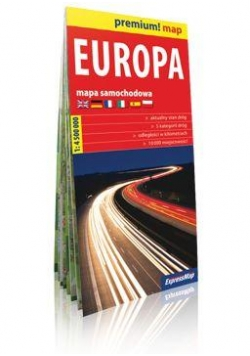 Premium!map Europa 1:4 500 000 mapa