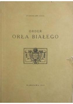 Order Orła Białego, reprint z 1939 r.