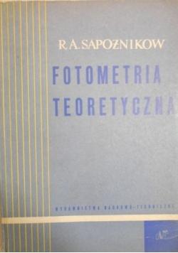 Fotometria teoretyczna