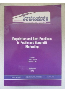 Regulation and Best Practices in Public and Nonprofit Marketing