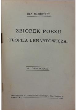 Zbiorek poezji Teofila Lenartowicza, 1913 r.