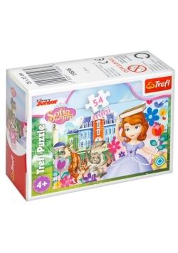 Puzzle 54 mini Magiczny świat księżniczki 2 TREFL