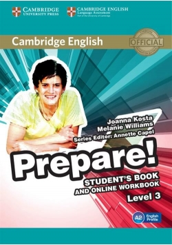 Cambridge English Prepare! 3 Student's Book + online workbook