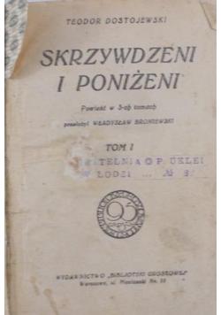 Skrzywdzeni i poniżeni, 1926r.