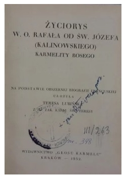 Św. Józef Kuncewicz 1921 r.