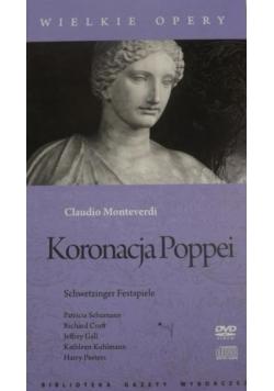 Koronacja Poppei. Wielkie Opery, DVD + CD
