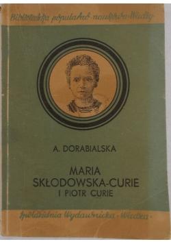 Maria Skłodowska-Curie i piotr Curie, 1948 r.