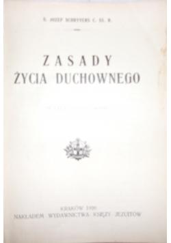 Zasady życia duchowego, 1926 r.