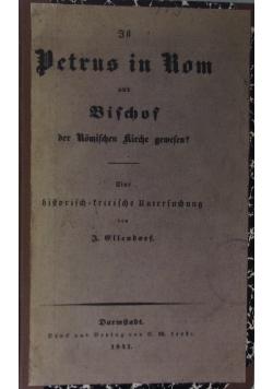 Petrus in Rom und Bischof, 1841 r.