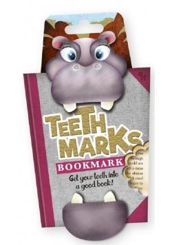 """Teeth Marks - zakładka """"zębowa"""" - Hipopotam"""
