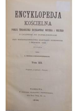 Encyklopedia Kościelna tom XX, 1984r.