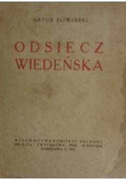 Osiecz Wiedeńska,1933r.